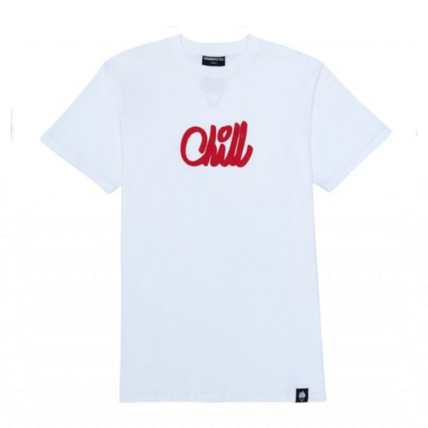 FOREVER CHILL LOGO 09 WHITE