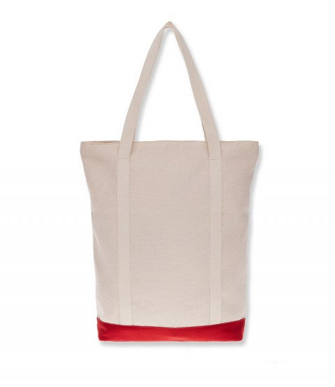 BOAT TOTE BAG RED