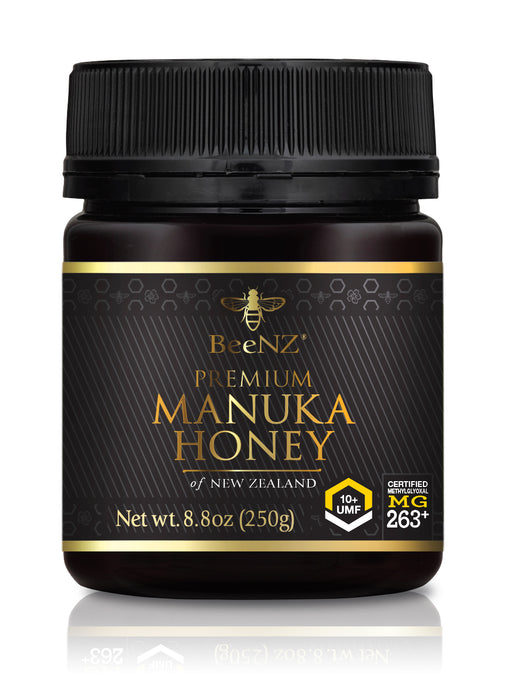 BeeNZ UMF10+ Manuka Honey (MGO 263+)