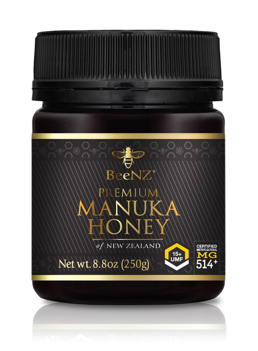 BeeNZ UMF15+ Manuka Honey (MGO 514+)