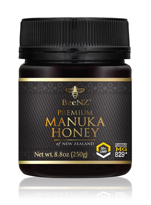 BeeNZ UMF20+ Manuka Honey (MGO 829+)