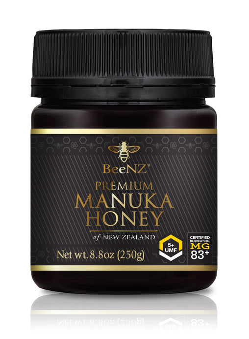 BeeNZ UMF5+ Manuka Honey (MGO 83+)