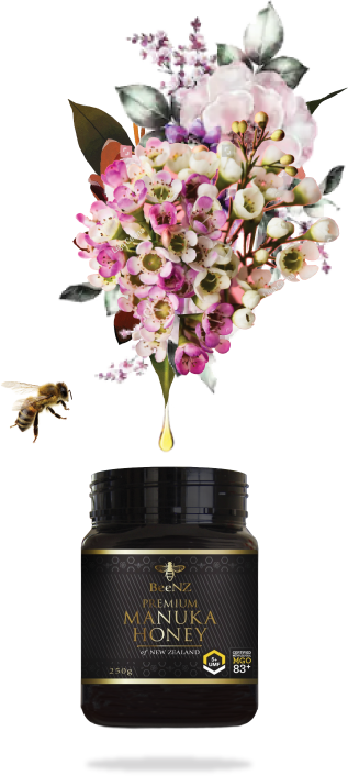 Honey, Bee and Manuka