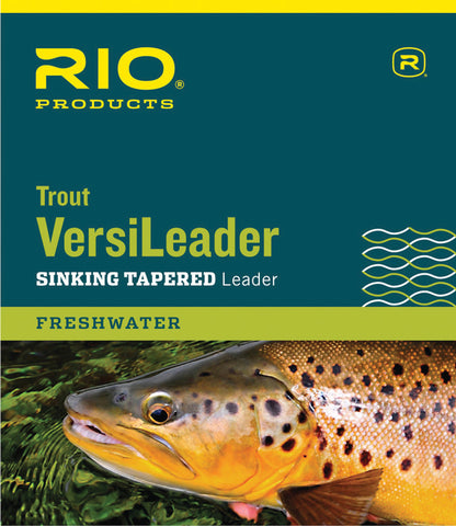 RIO Trout VersiLeader Polymer Coated Tapered Leader