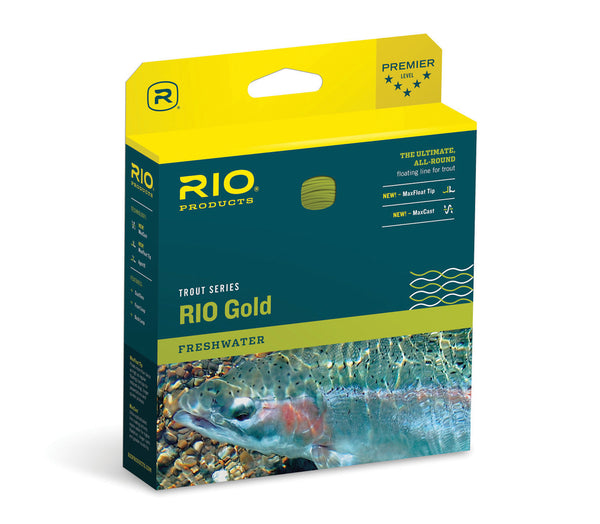 RIO Gold WF floating trout fly line box