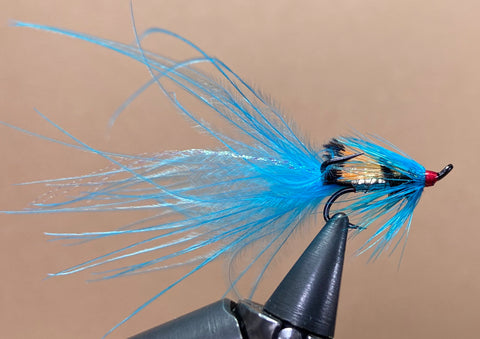 Blue And Silver Marabou Shrimp