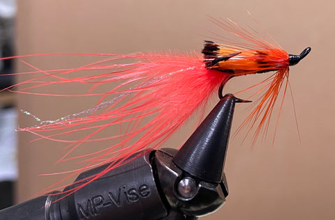 Orange Marabou Shrimp