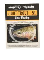 Airflo PolyLeaders - 5' Light Trout