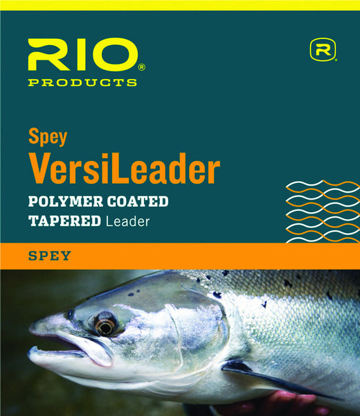 RIO Spey Versileader polymer coated tapered leader