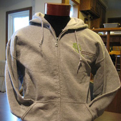 TLC Long Sleeve Hooded Sweatshirt with pockets and zipper