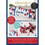 Kimberbell America Land That I Love Bench Pillow