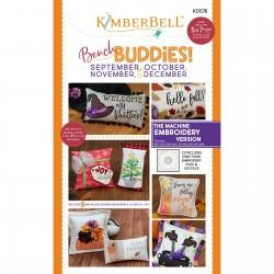 Kimberbell Bench Buddies Sept Oct Nov Dec