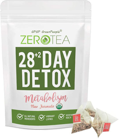 Zero Tea - (14+2 / 28+2 Day) Weight Loss Tea for Women & Men