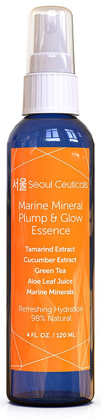 Korean Beauty Skin - Contains Japanese Green Tea, Aloe, Cucumber, Marine Minerals & Tamarind Extract For That Youthful Glow