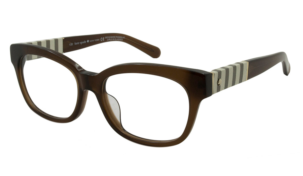 Kate Spade Optical Frames Andra Brown 51mm Women Eyeglasses