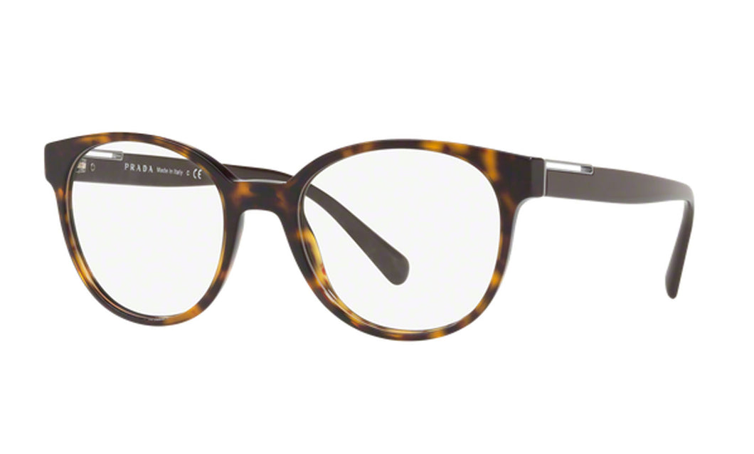 Prada Optical Frames 0PR 10UV Havana Men Eyeglasses