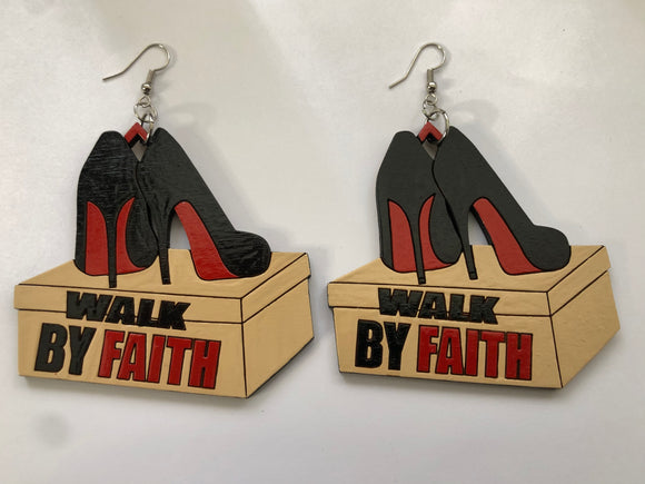 Walk By Faith Earrings