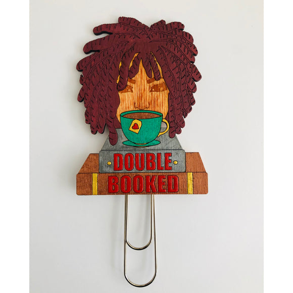 Double Booked Bookmark - Sister Locs