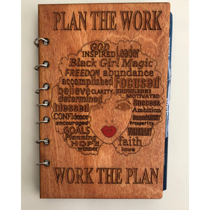 Refillable Planner - Plan the Work/Work the Plan