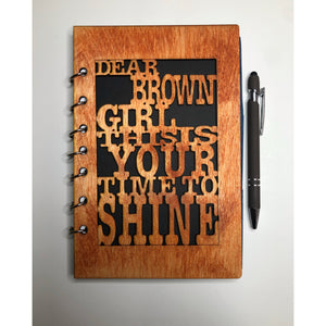 Refillable Planner - Dear Brown Girl