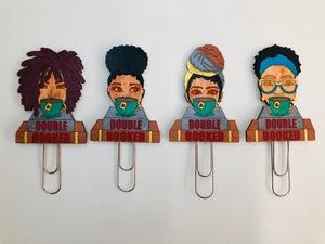 Double Booked Bookmark Set