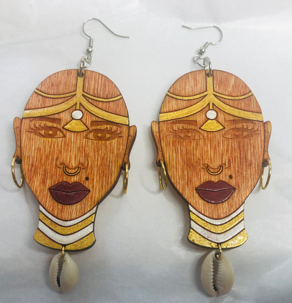Queen Nzinga Earrings