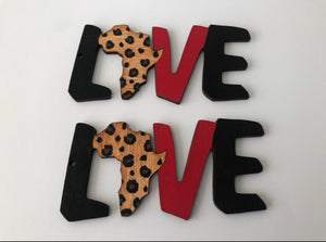 Earrings - Love Africa Leopard