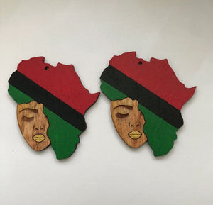 Earrings - Sister Afroca