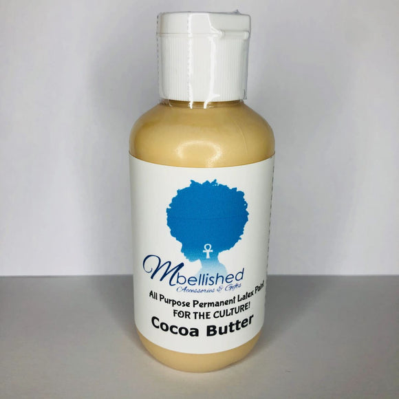 MBellished Latex Paint - Cocoa Butter