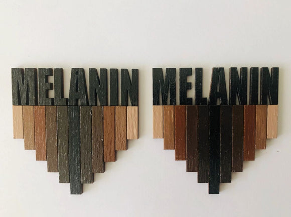 Earrings - Melanin Shades