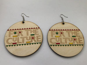 Earrings - For The Culture