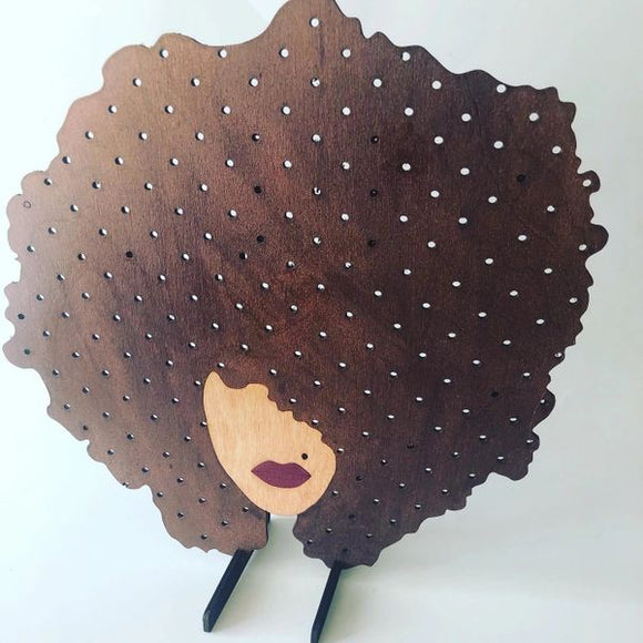 Earring Stand - RBG Afro