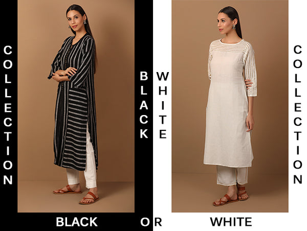 Top 4 Ways To Carry BLACK n WHITE Ensemble And Bring Out The Fashionista In You