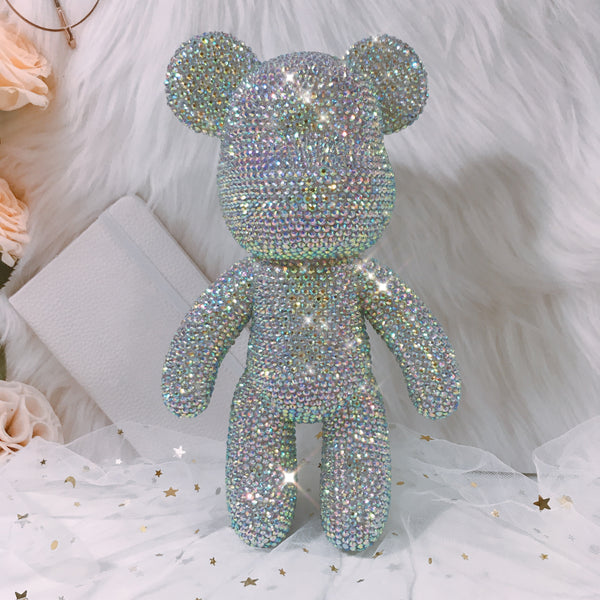 9 Inch Crystal Teddy Bear