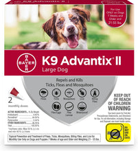 Load image into Gallery viewer, Bayer K9 Advantix II Large Dog