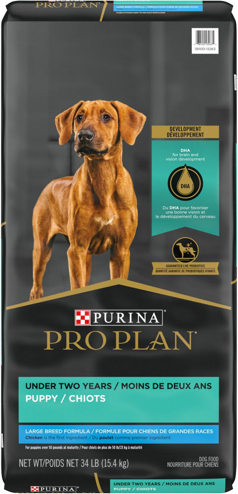 Purina Pro Plan Large Breed Puppy Formula Dry Dog Food