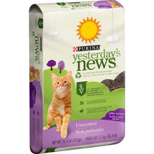 Load image into Gallery viewer, Yesterday's News Softer Texture Unscented Cat Litter