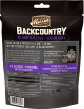 Load image into Gallery viewer, Merrick Backcountry Big Game Grain Free Real Lamb & Venison Jerky Dog Treats