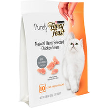 Load image into Gallery viewer, Fancy Feast Purely Natural Hand-Selected Chicken Cat Treats