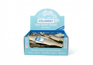 Icelandic+ Cod Short Skin Sticks Fish Dog Treats