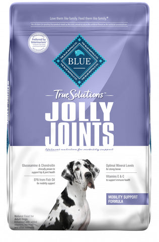 Blue Buffalo True Solutions Jolly Joints Natural Mobility Support Chicken Recipe Adult Dry Dog Food