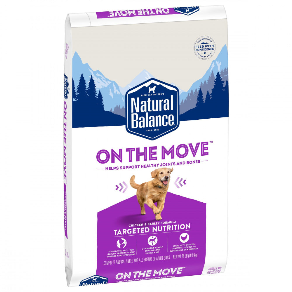 Natural Balance On the Move Chicken & Barley Formula Dry Dog Food
