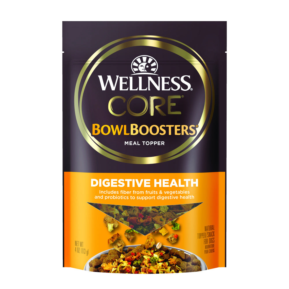 Wellness CORE Bowl Boosters Digestive Health Dry Dog Food Topper