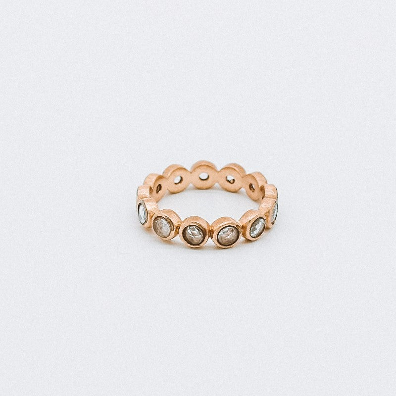 Loulou Ring - Handmade gold plated Katy Valentine - Shop with Sparkle & The Sinner