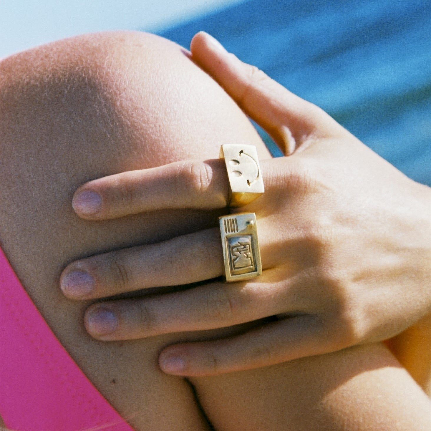 I Want my MTV - 80's retro ring gold plated Mayol - Shop with Sparkle & The Sinner