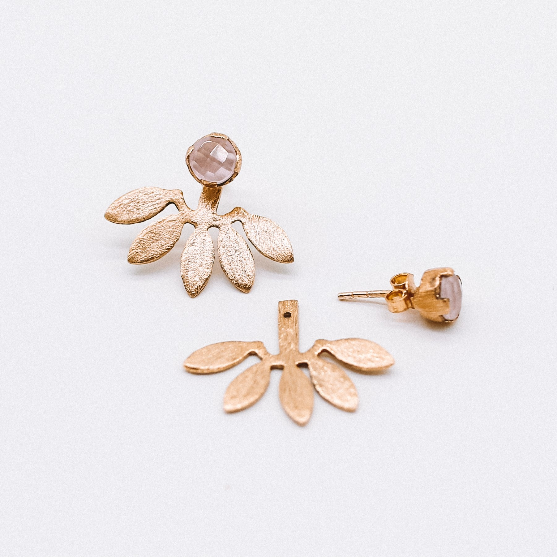 Daisy Studs-Handmade gold plated Katy Valentine - Shop with Sparkle & The Sinner
