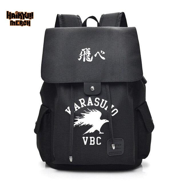 haikyuu school backpack