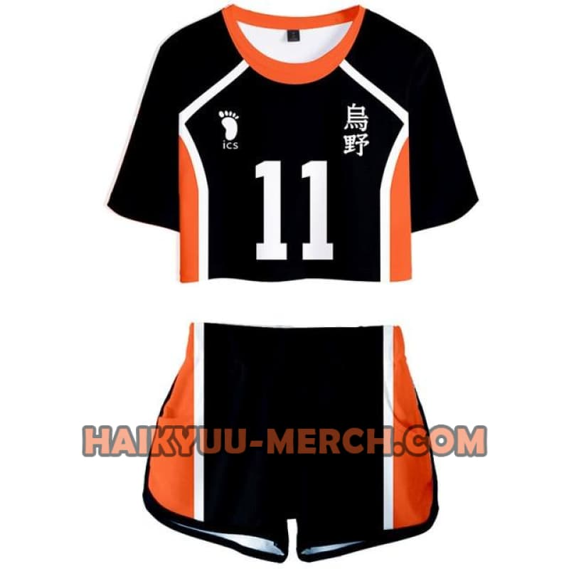 kei tsukishima girl uniform