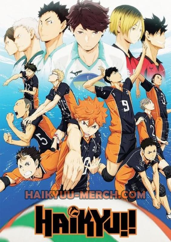 haikyuu season 2 poster