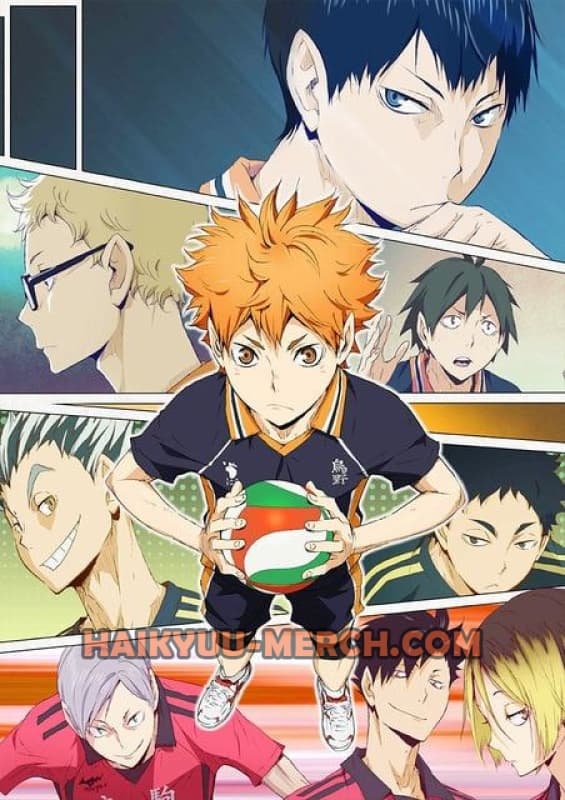 haikyuu little giant poster